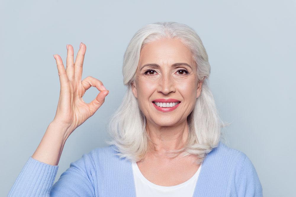 Gute Zahnpflege verlängert das Leben