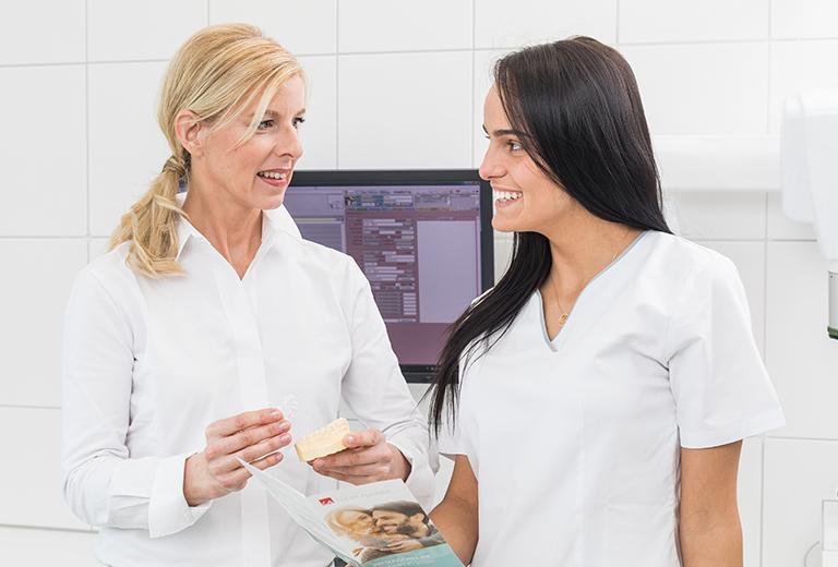 Ästhetische Zahnstellungskorrektur